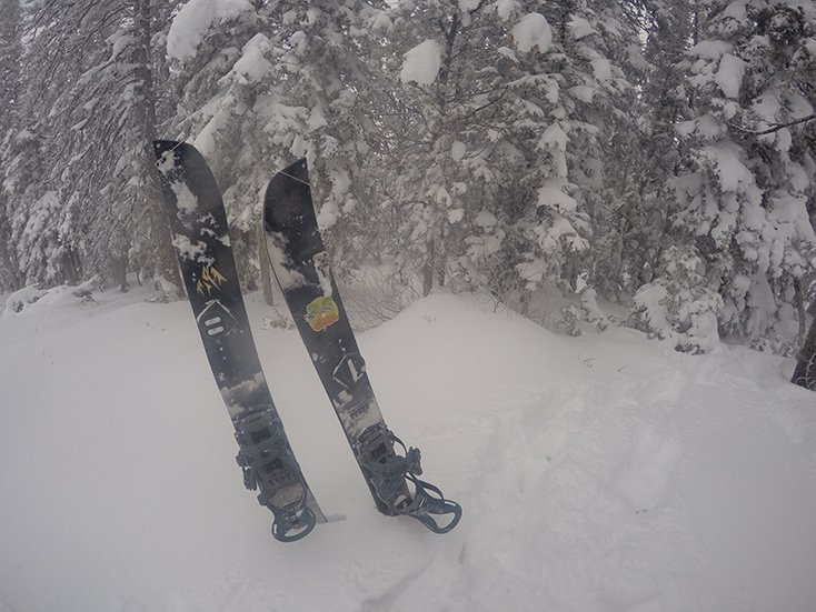 Jones Snowboards Splitboard