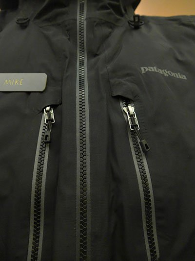 Patagonia Primo Down Front Pocket Zippers