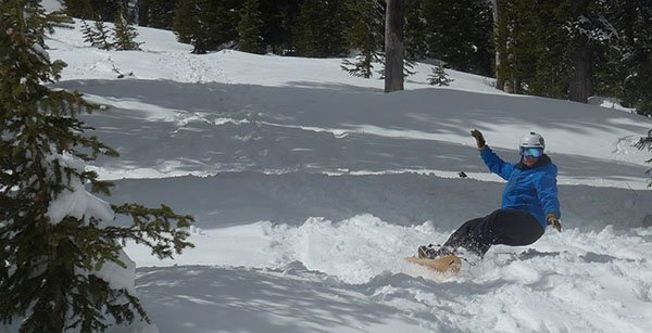 Rob Kingwill on a PHNX Board Photo Mike Hardaker | Mountain Weekly News