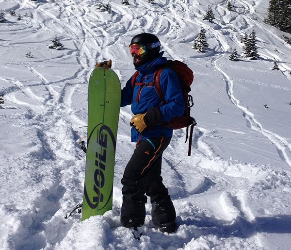 The Strafe Cham Pant is perfect for your next splitboard / ski tour Photo | Mountain Weekly News