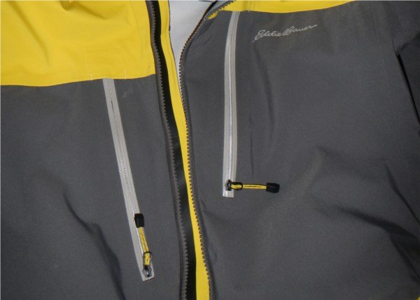 Bomber Zippers on the Eddie Bauer Neoteric Shell Zippers Photo Mountain Weekly News
