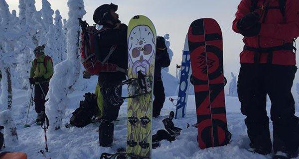 Olive Exodus Splitboard Photo TAB | Mountain Weekly News