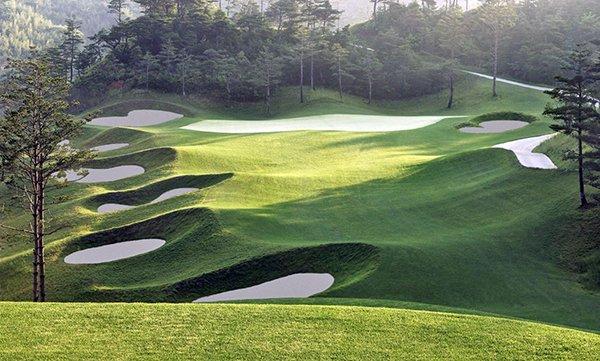 Ananti-Golf North Korea