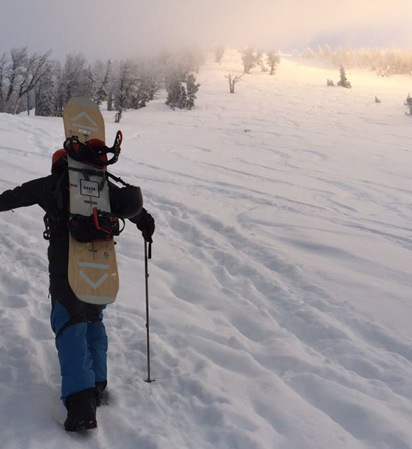 The Coda Camber should be on your back for all your BC bootpack sessions, Photo | Mountain Weekly News