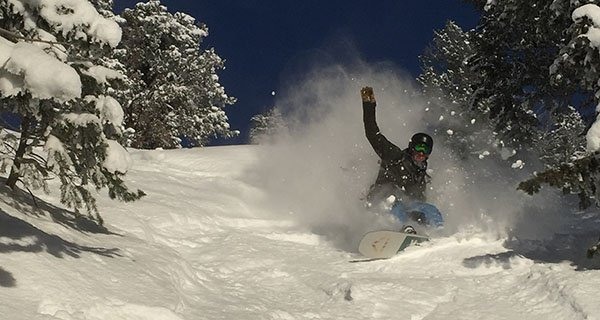 Ryan laying the coda on edge thanks to CAMBER, Photo | Mountain Weekly News