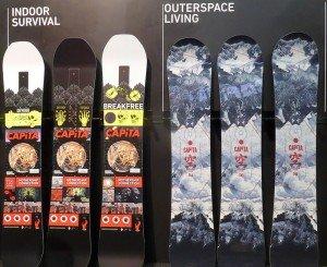 Capita 2017 Snowboards