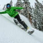 How to Snowboard Powder