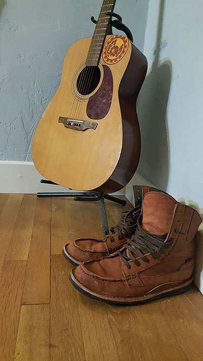 Guitars and Boots, something every man should own, Photo Eric Odlin | Mountain Weekly News