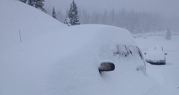 It actualy snows in Colorado if you know wherre to look, Photo Susan Etter | Mountain Weekly News