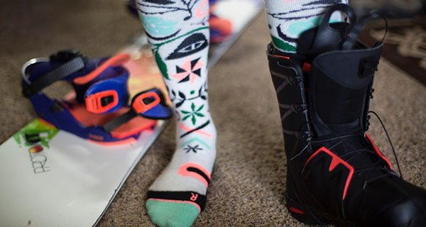 Stance Campvibes Merino Mid Weight Snow Sock Paisley Wildman | Mountain Weekly News