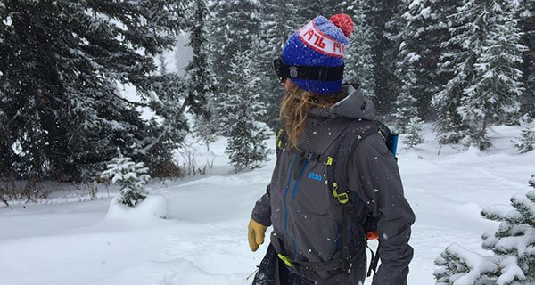 Hunter rocking the Snotel Jacket in the Tetons Photo | Mountain Weekly News