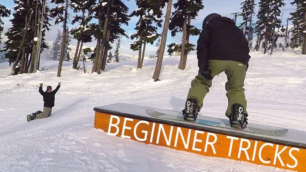 snowboard jibbing beginner