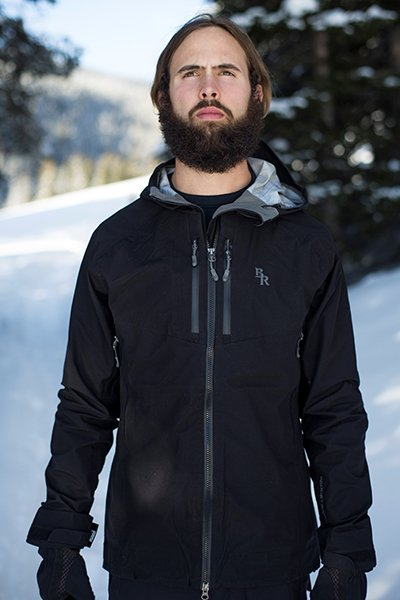 Beards and the Backcountry, Larry styling in the Armor Jacket, Photo Paisley Wildman | Mountain Weekly News