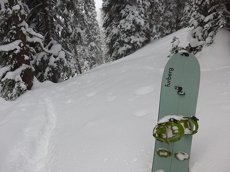Furberg Freeride Splitboard Photo Mike Hardaker | Mountain Weekly News