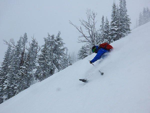 Jacob Stinson Skiing Glory Photo Mike Hardaker | Mountain Weekly News
