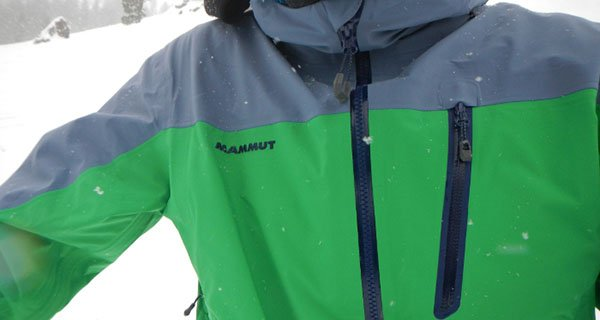 Jonathan Penfield testing the Mammut Aliver HS Hooded Jacket Photo | Mountain Weekly News