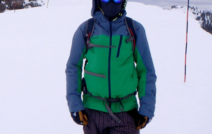 Mammut Alvier HS Hooded Snowboard Jacket Review
