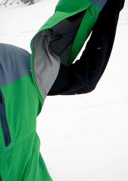 Mammut Aliver's Pit Zips Photo Mountain Weekly News