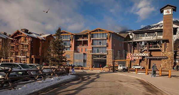 A new trend in ski resort development, hide the actual mountains from view?? Jackson going Vail style