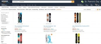 Amazon Snowboards, Is your Favorite Brand Available for Cheap?