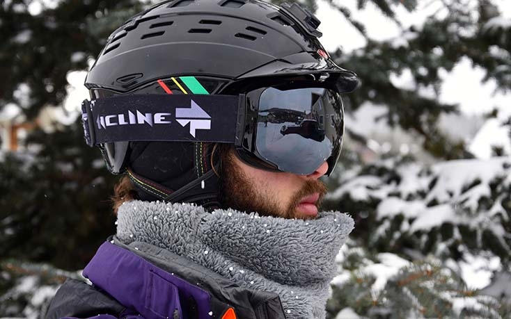 Incline Optics Goggle Photo Paisley Wildman | Mountain Weekly News