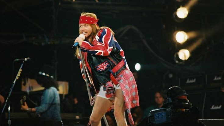 Our Favorite WTF Just Happened Moments with Guns N' Roses over the Years
