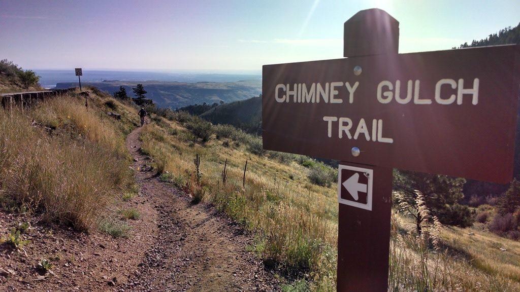 Chimney Gulch Bike Trail