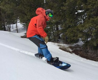 2017 Never Summer Twenty Five Splitboard Review