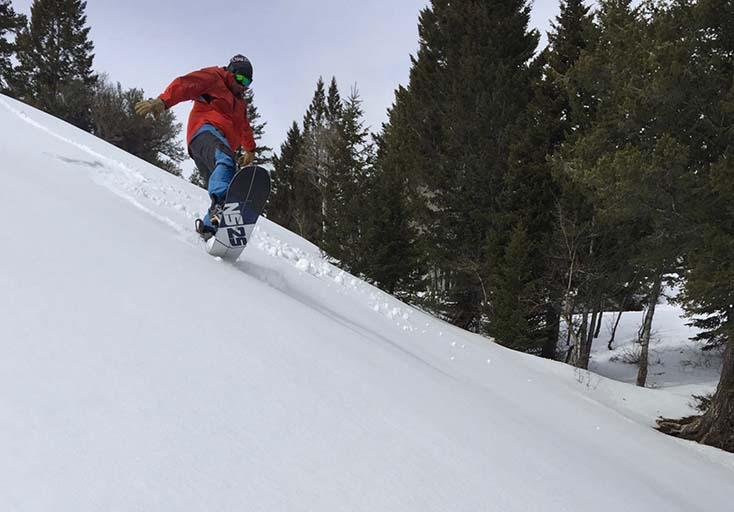Ryan on the Never Summer Twenty Five Splitboard Photo | Mountain Weekly News