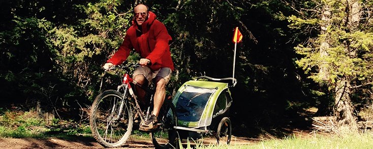 Burley D'Lite Bike Trailer (1)