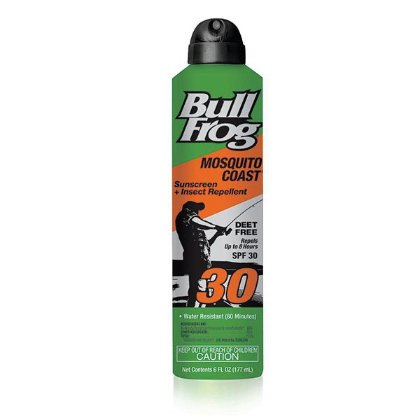 Bullfrog bug spray sunscreen
