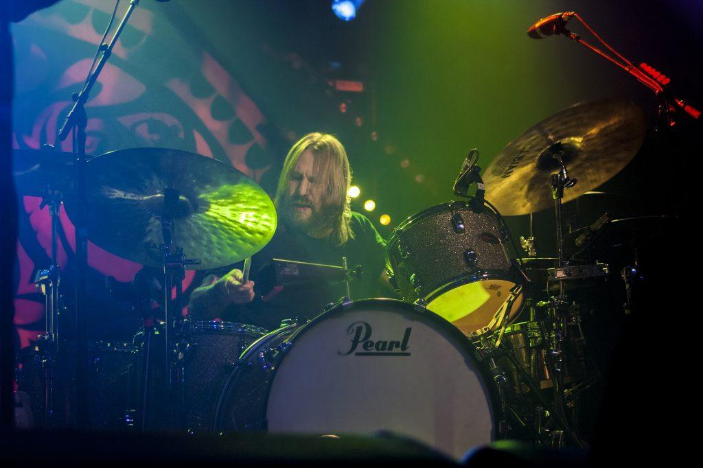 Matt Abts Gov't Mule's rock steady drummer Jackson Wyoming, Photo Mike Hardaker | Mountain Weekly News