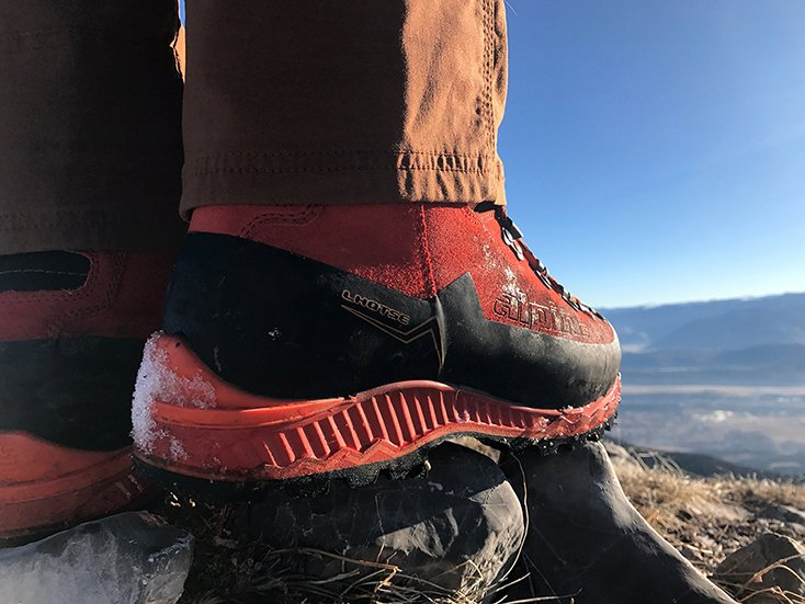 Alpina Lhotse Mountain Hiking Boot Review Mountain Weekly News - Alpina alaska