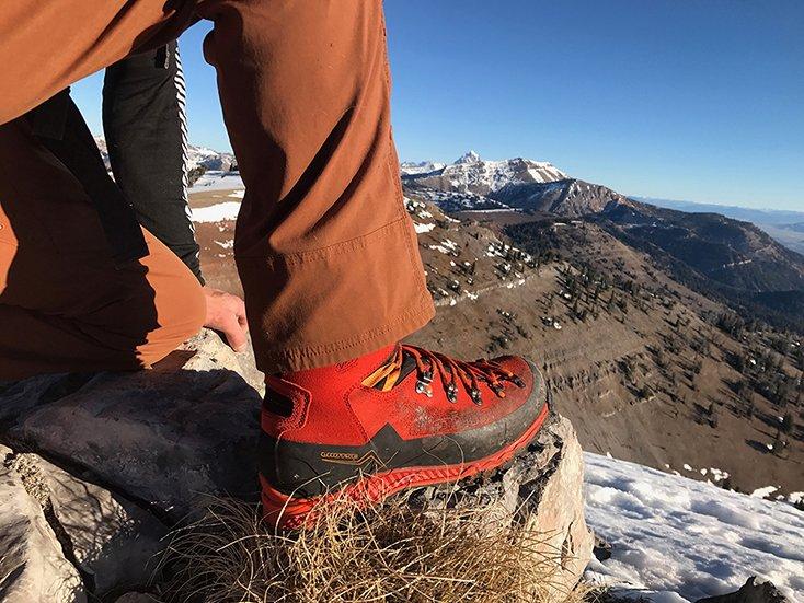 Alpina Lhoste Boot, Photo Borbay