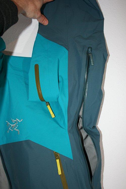 Arc'teryx Rush Jacket Pit Zips