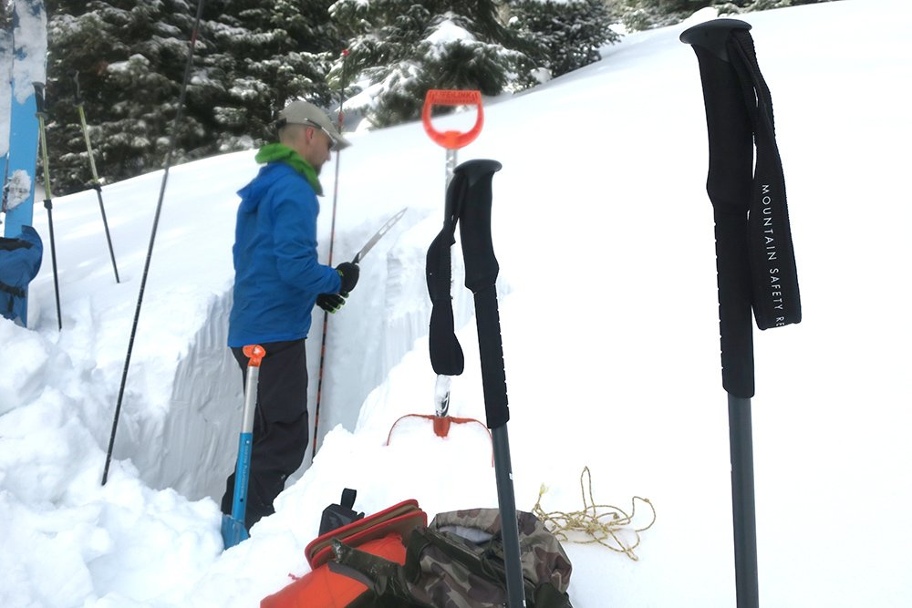 MSR DynaLock Explore Splitbaord Pole