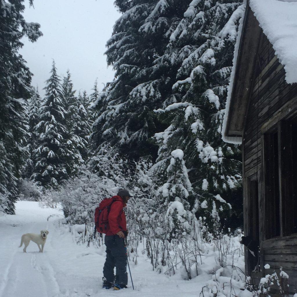 Touring in Jones ThirtyTwo Snowboar