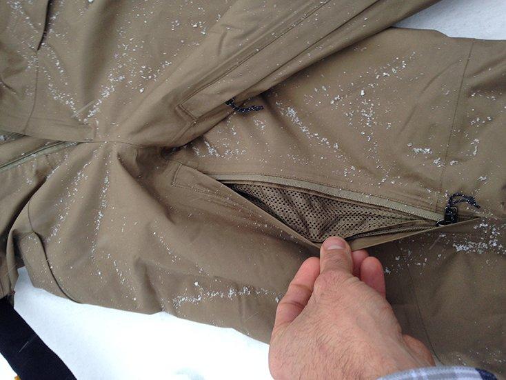 Patagonia Snowshot Pants temp Regulation