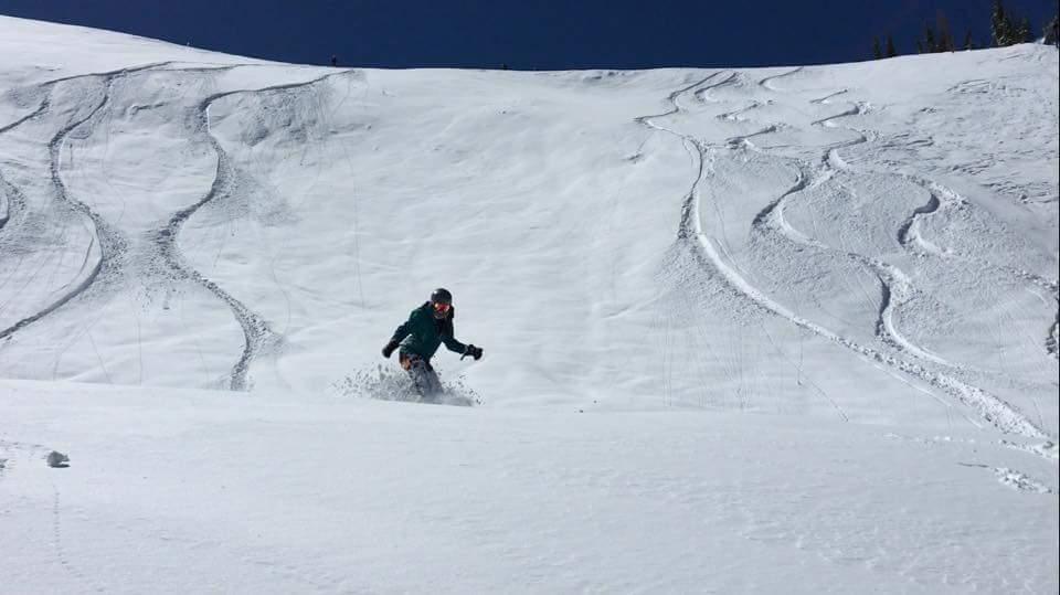 Women Snowboarder