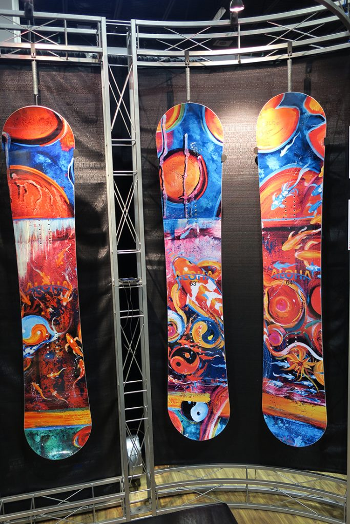 2017 -2018 Aloha Snowboards