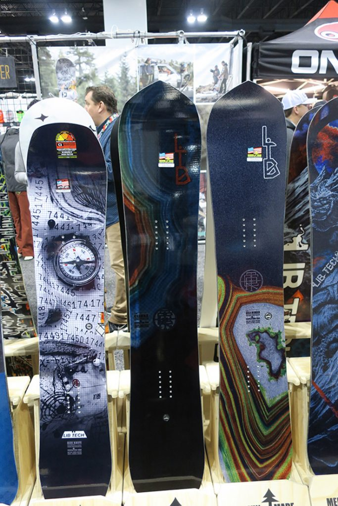 2017- 2018 Lib Tech Snowboards