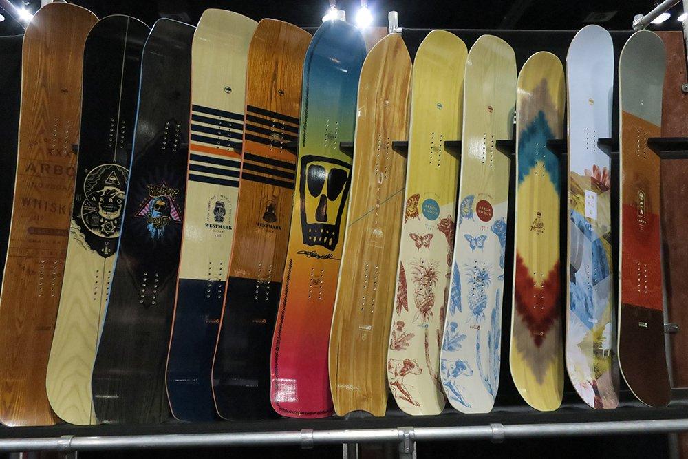 Arbor 2017 - 2018 Snowboards