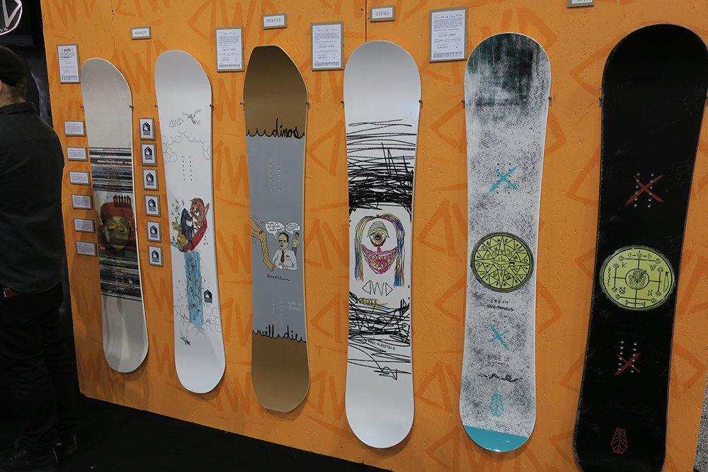 Dinousars will die snowboards 2017-2018