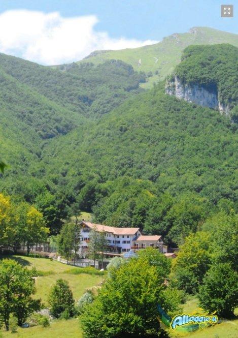 Hotel Rigopiano Slide Path