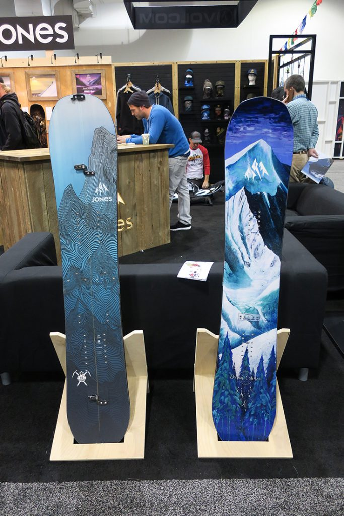 Jones Snowboards 2017-2018