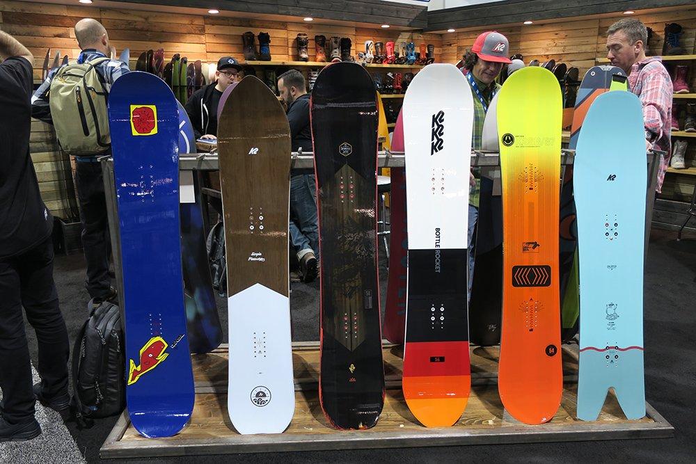 K2 Snowboards 2017 - 2018