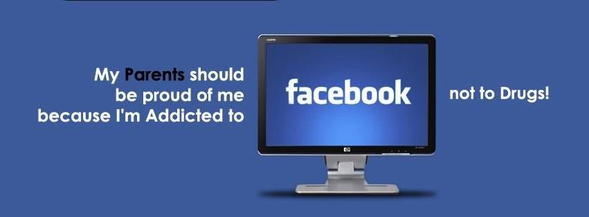 Facebook is a drug