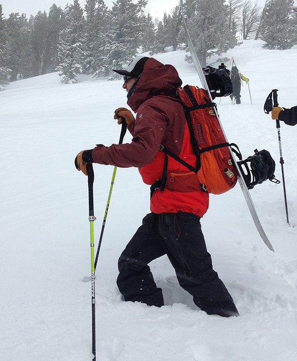 North Face Jacket Teton Pass Hike