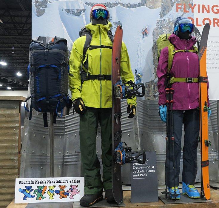 Patagonia Deceonsit Jacket and Pants 2017/2018