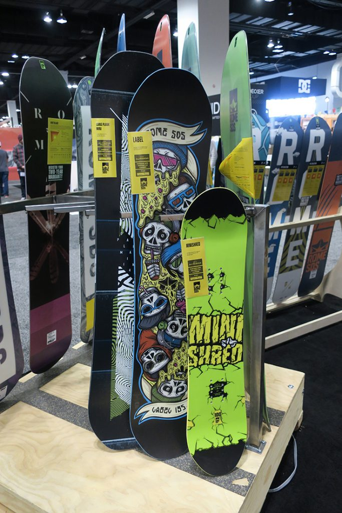 Rome Snowboards 2017-2018